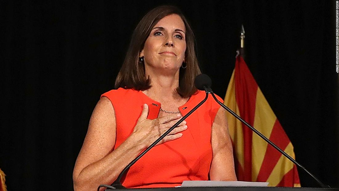 Arizona Rep. Martha McSally is appointed to John McCain's Senate seat. She narrowly lost her bid for the state's other Senate seat to Democrat Kyrsten Sinema in November. http://cnn.it/2Cl21kA