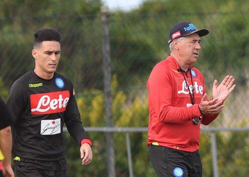 Napoli, allenamento pomeridiano 👉🏻 http://sscn.it/8f653e 💙 #ForzaNapoliSempre