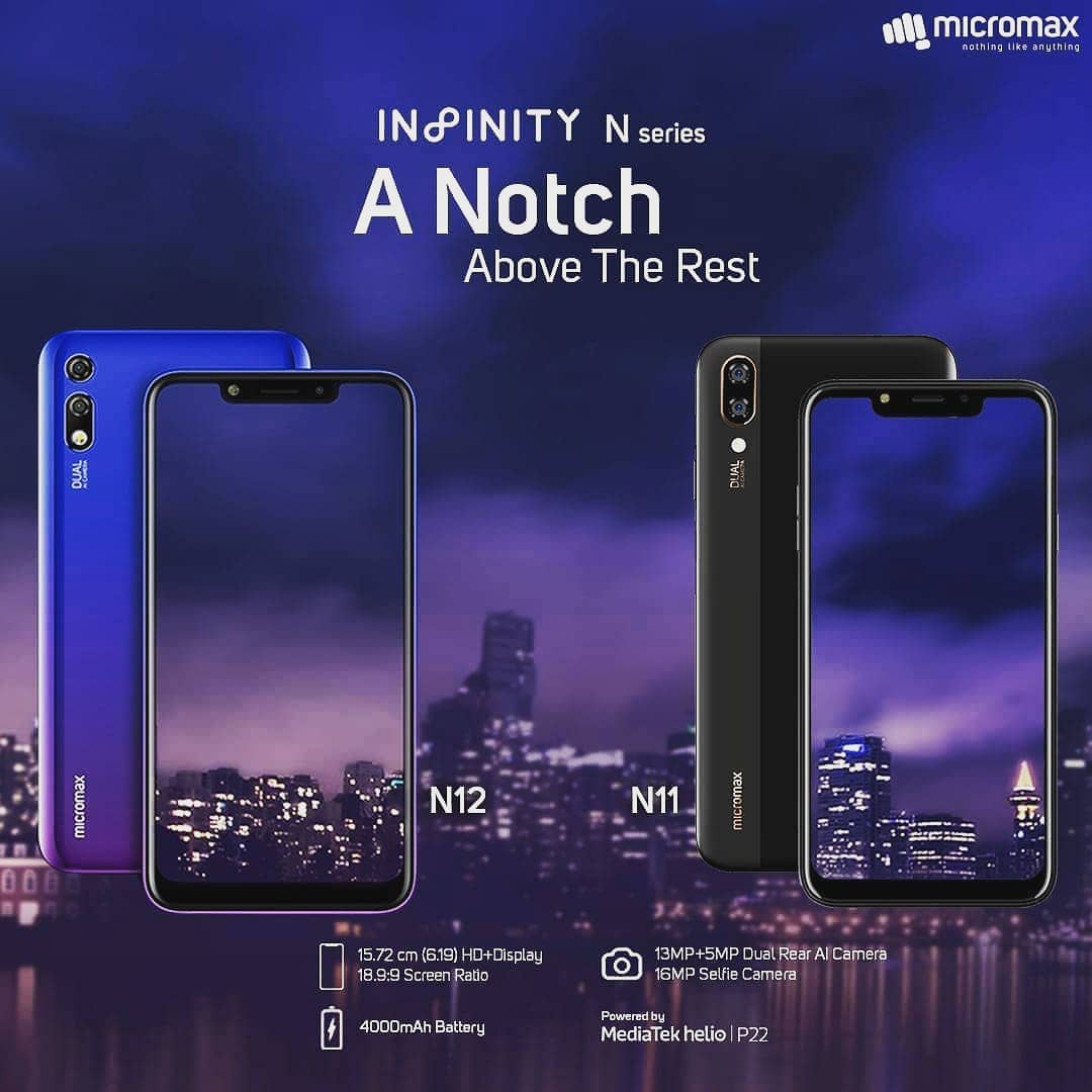 Image result for Micromax Infinity N11pic