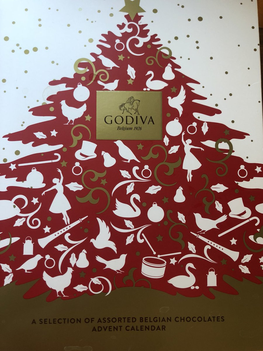 Godiva Advent Calendar.Charlie Webster On Twitter I M Really Bad At Opening Advent