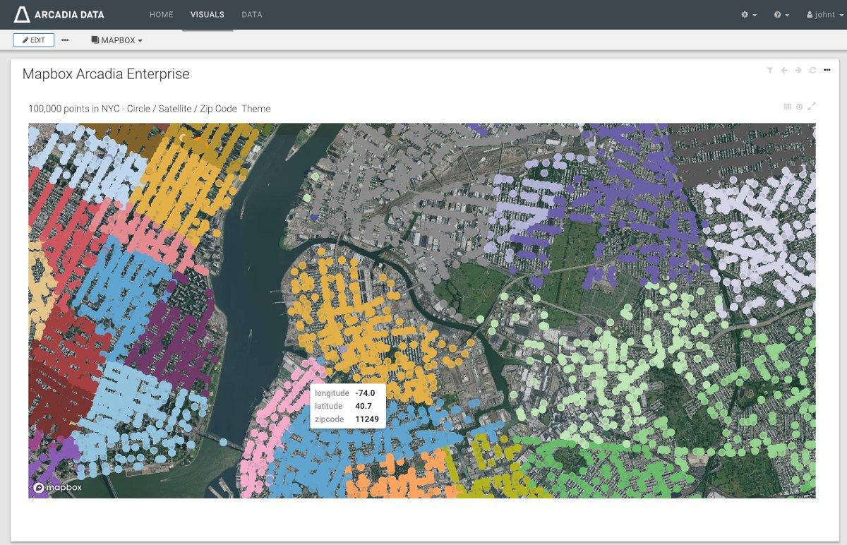 3d Heatmap Mapbox