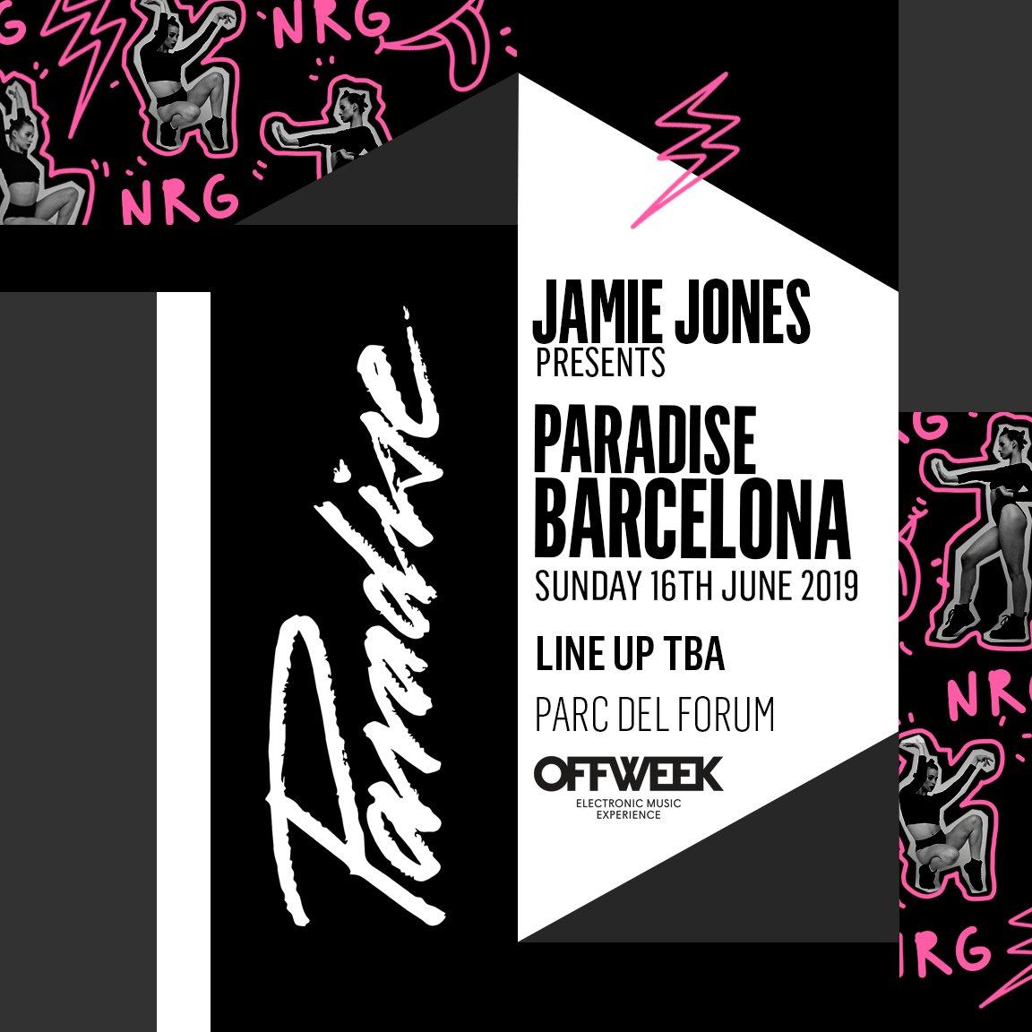 "Jamie Jones' ""Paradise Barcelona"" Announce Line-Up ile ilgili görsel sonucu"