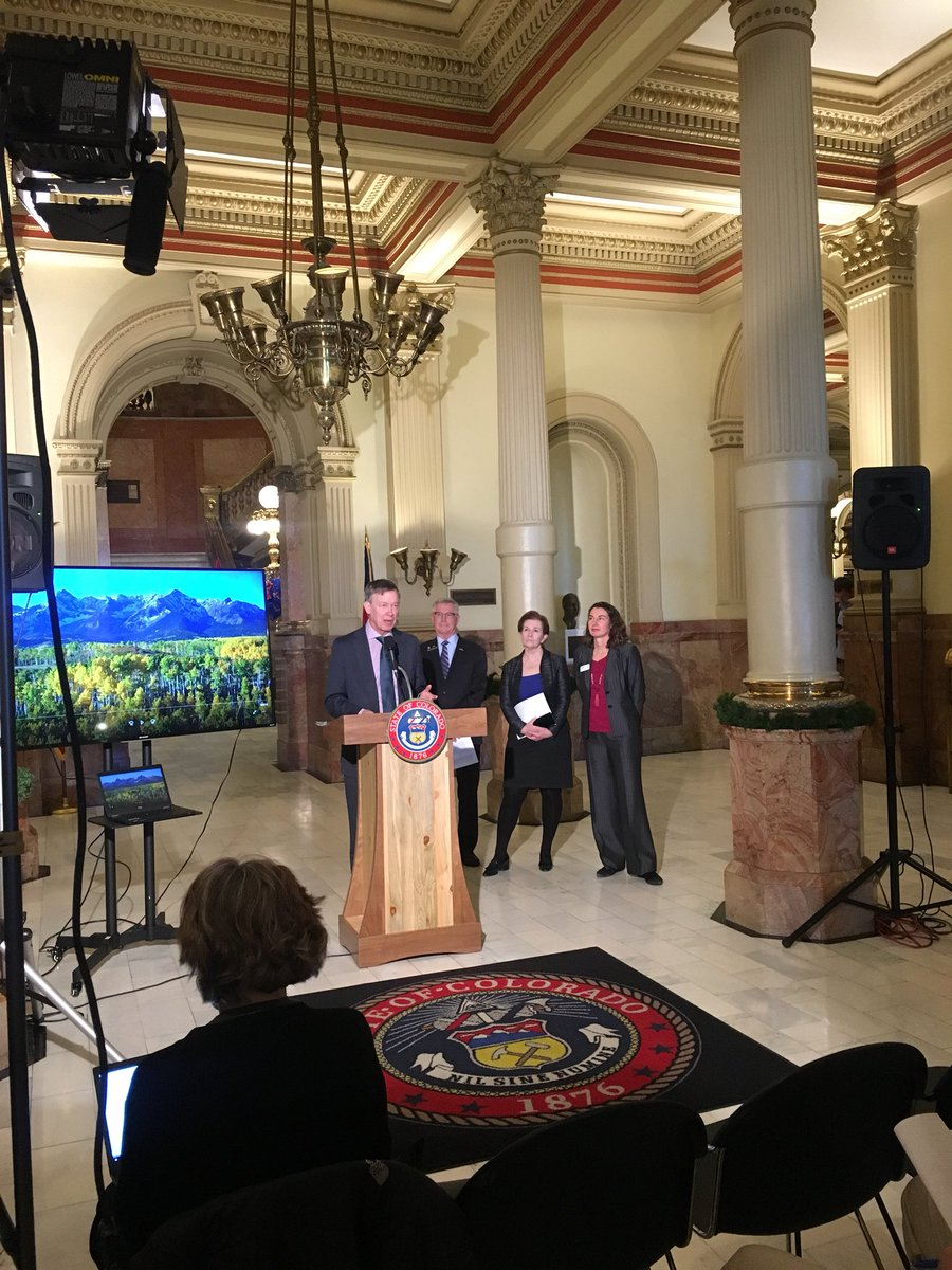 """Launching Colorado's """"State of Education""""— a roadmap to make our system of education the best in the country.    (Also, Colorado has a beautiful state Capitol building)"""