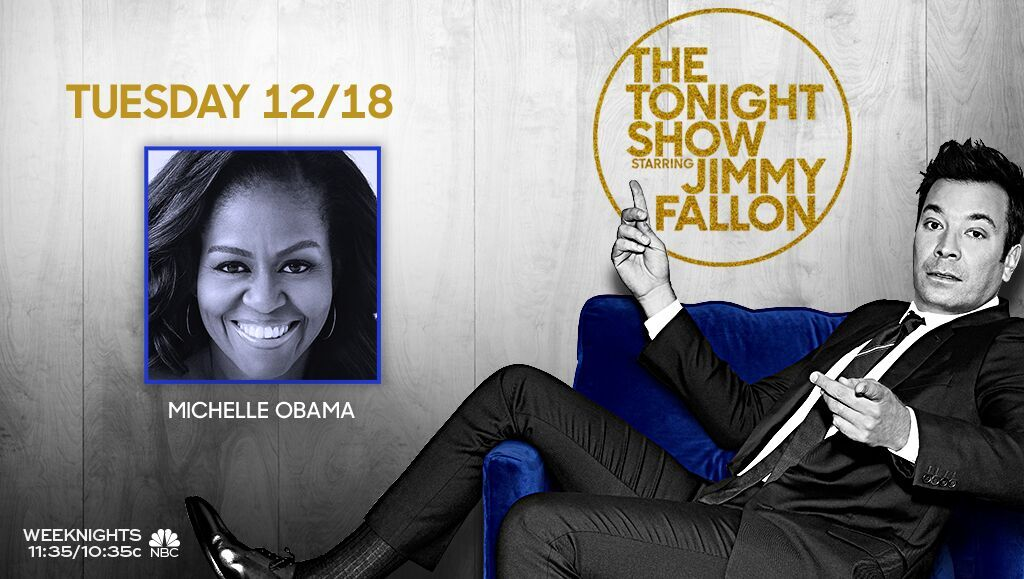 Tonight: @MichelleObama is here! Plus, we have some fun surprises planned with a few special guests! Don't miss it! #FallonTonight