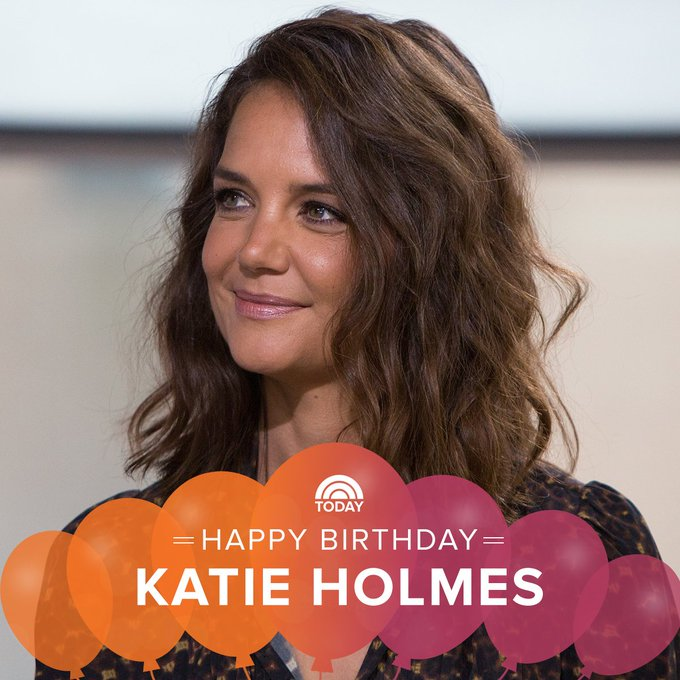 Happy 40th birthday, Katie Holmes!