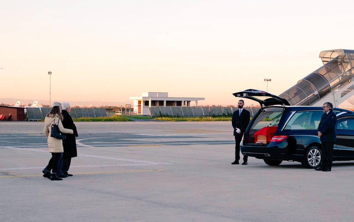 Aeroporto Militare di #Ciampino, il Presidente #Mattarella accoglie la salma di Antonio #Megalizzi