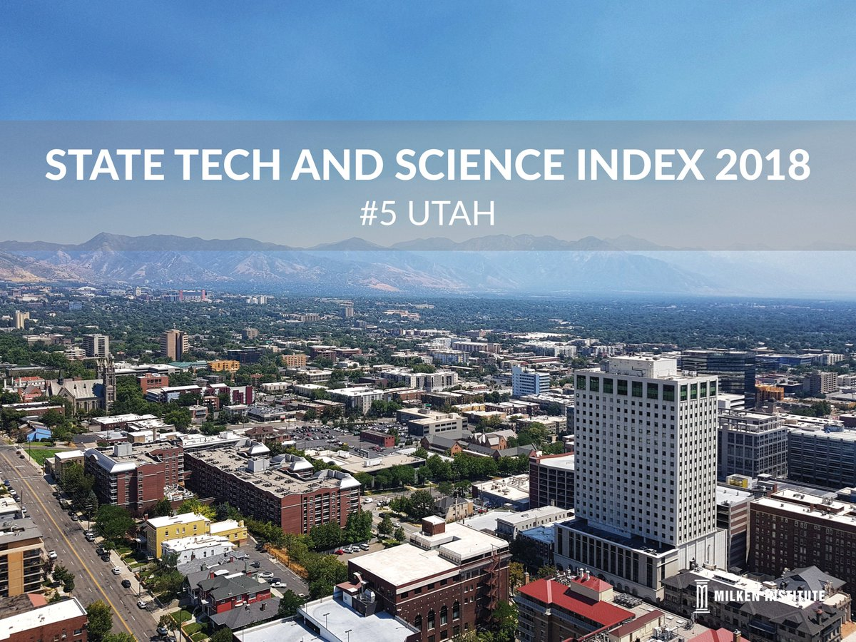 The State Has Seen Fastest Employment Growth In HighTech Sector Nation And Now Ranks First Technology Concentration Dynamism