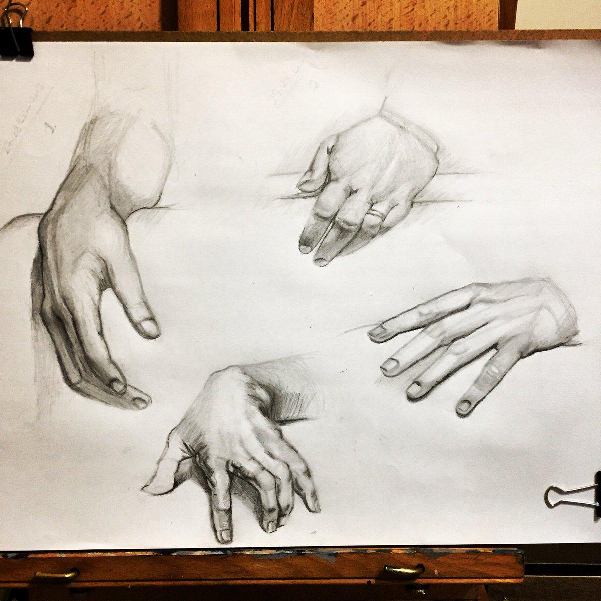 Birgul Ozgen Twitter वर Karakalem El çizim çalışmalarımla Iyi