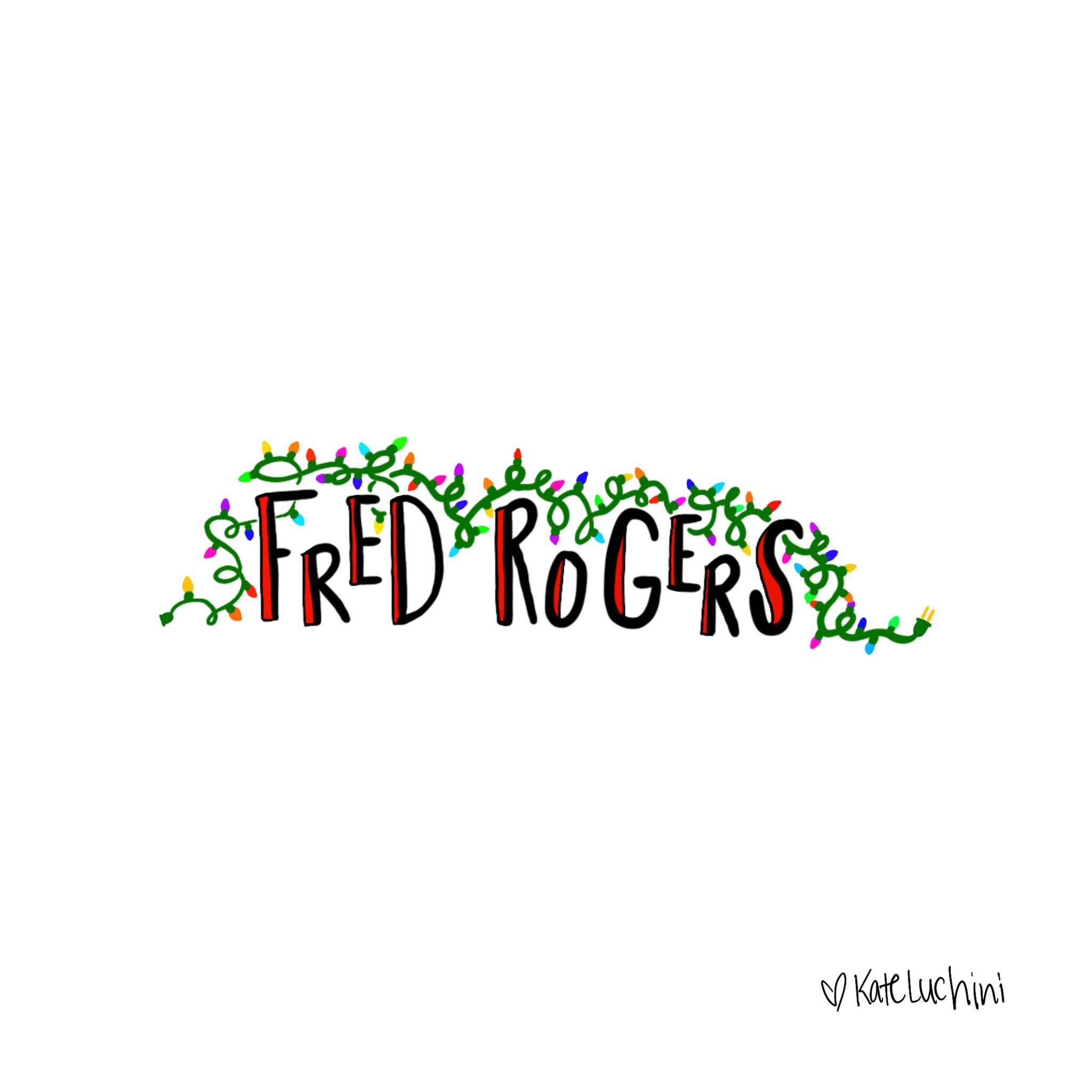 Fred Rogers Center On Twitter Because Sometimes You Re On A Conference Call It S The Holidays And You Can T Stop Thinking About Fredrogers Check Out What Our Simple Interactions Projects Assistant Kate Luchini Doodled