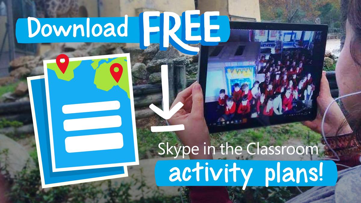 skype classroom skypeclassroom twitter