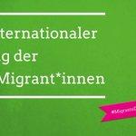 Image for the Tweet beginning: Heute ist Internationaler Tag der