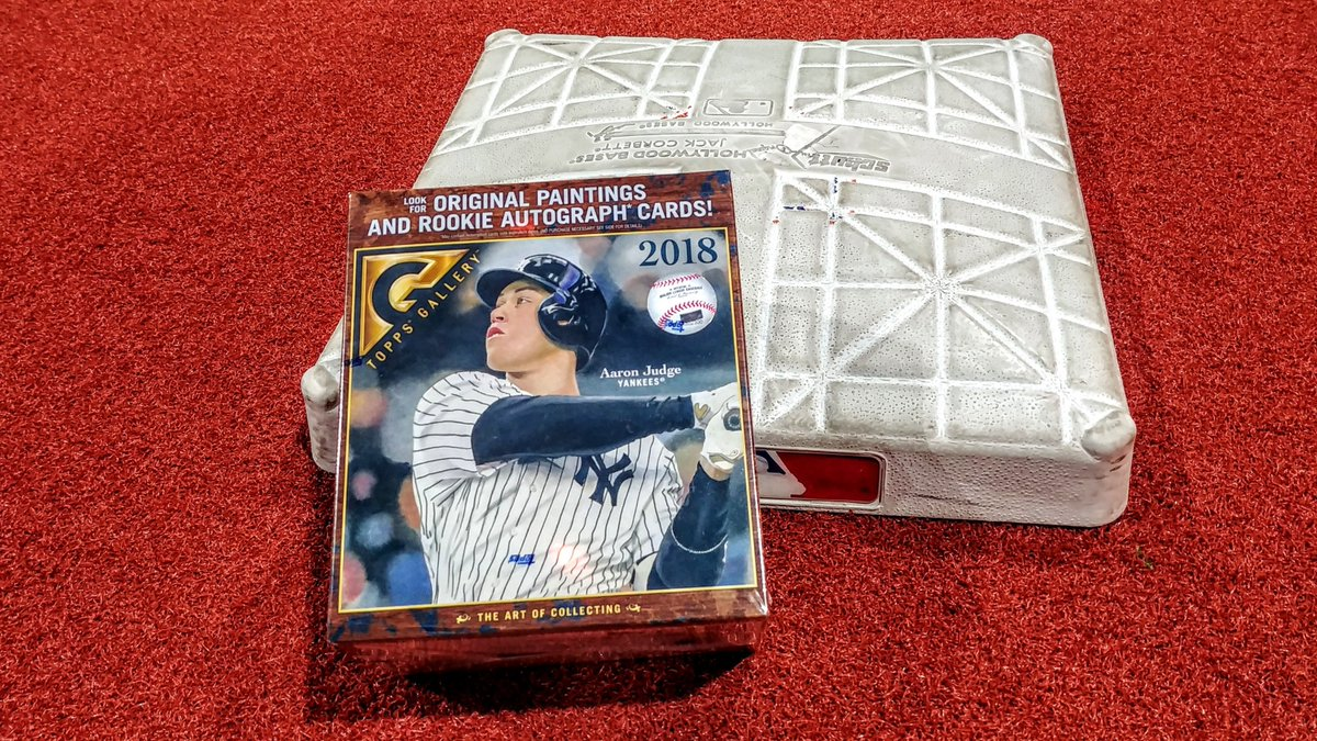 And you thought you'd opened your last #Christmas present! RETWEET now for a chance at this @toppscards set featu@TheJudge44ring !  RUhttps://t.co/BGpsZnMU0rLES: