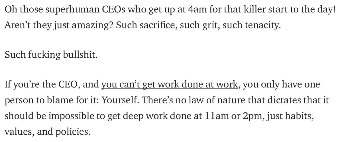 How about fixing the workplace rather than avoiding it at 4am? https://t.co/olDdnSwpKj