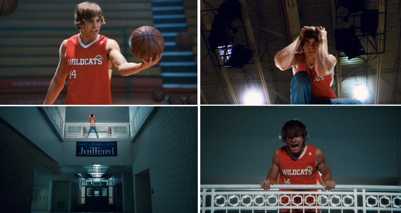 My emotional state today is best described as: Troy Bolton having to choose between theater and basketball.