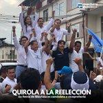 Image for the Tweet beginning: #EleccionesElOro2018 Esteban Quirola Bustos, actual