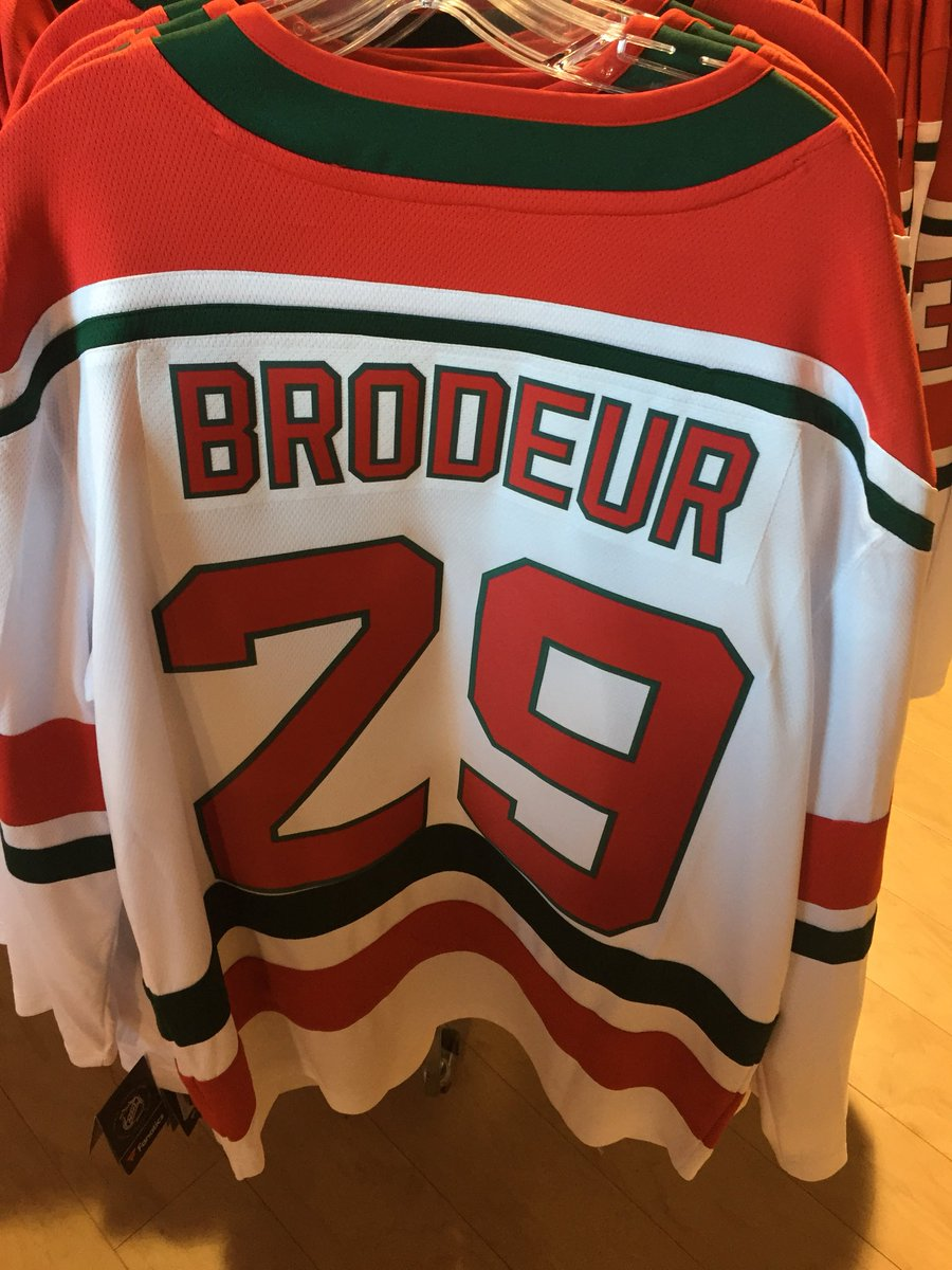 David Satriano On Twitter Martin Brodeur Heritage Jersey At The