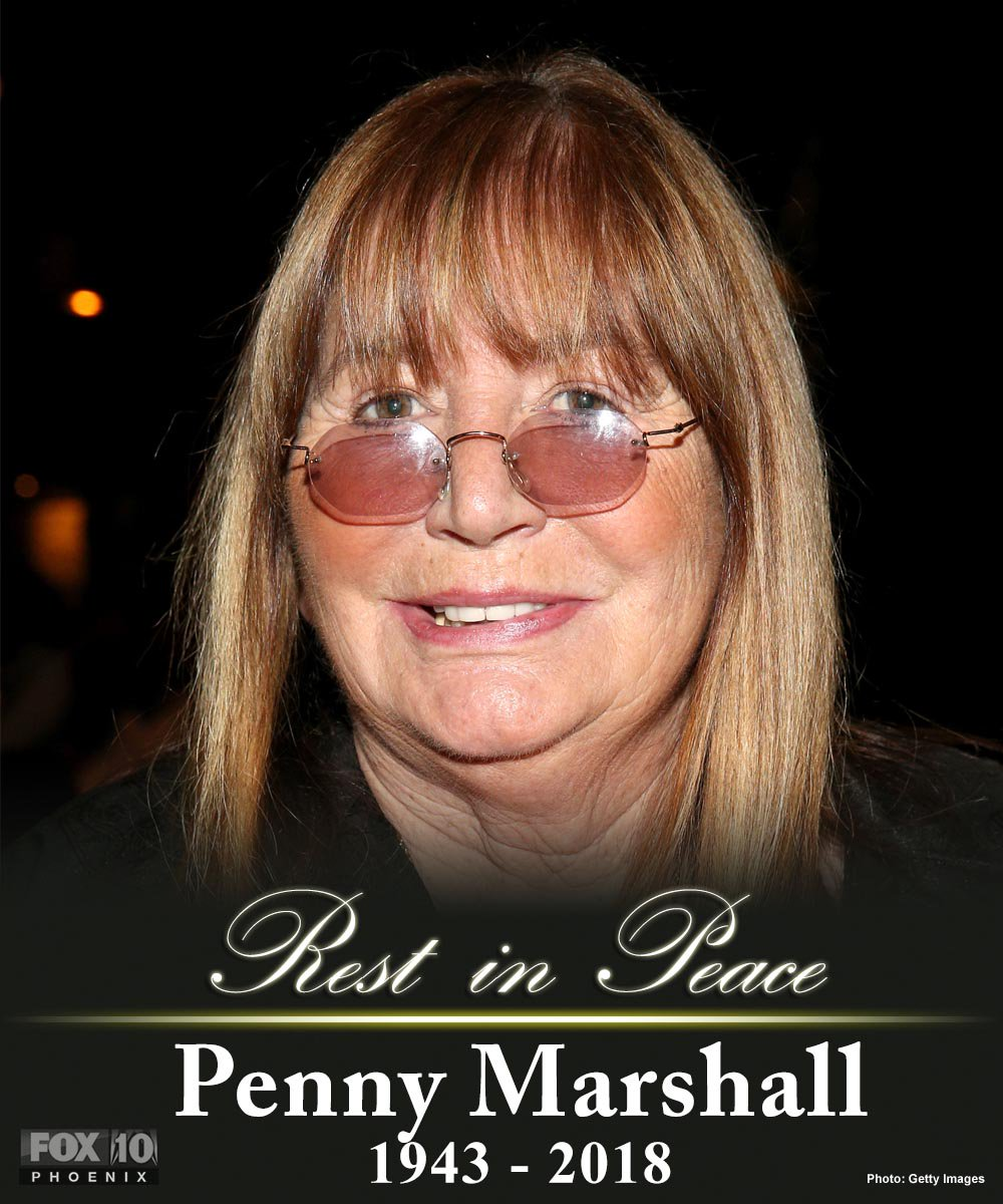 #BREAKING: Actress, comedian and director Penny Marshall has died at 75, TMZ reports.