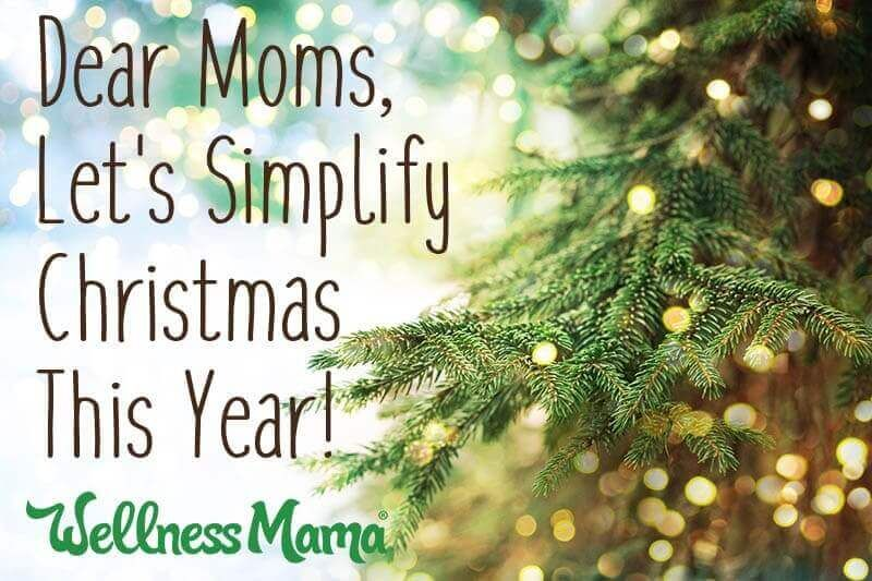 In case you need this reminder right about now ❤️ https://t.co/ZIhFq5cW7w #Christmas #christmastime #wellnessmama
