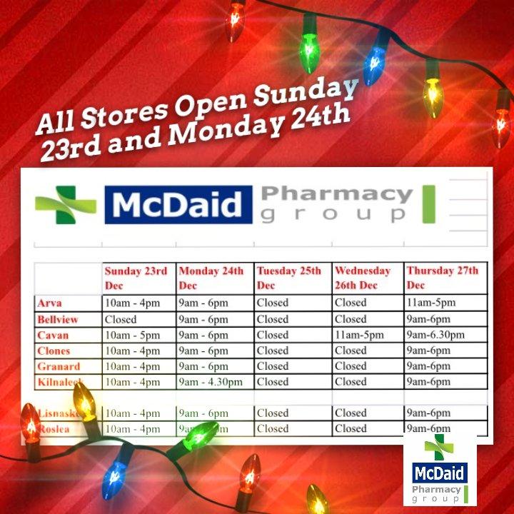 ... McDaid Pharmacy  christmas ·  gift   localpharmacypic.twitter.com qBzsEReX9R ae7a5d9ae245