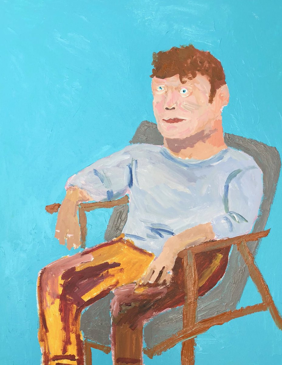 Joe Lycett On Twitter This Is The Painting I Did For Sky