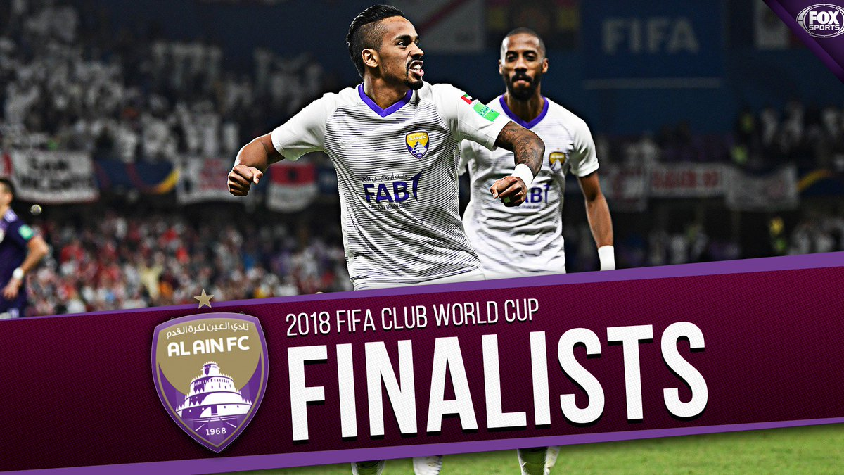 Al Ain are headed to the FIFA Club World Cup Finals!  They stun River Plate on penalties and will face either Real Madrid or Kashima Antlers in the Final on Saturday.