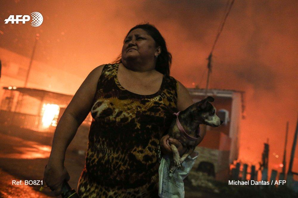#BRA Huge fire ravages 600 homes in Brazil's Amazon @AFPphoto by Michael Dantas