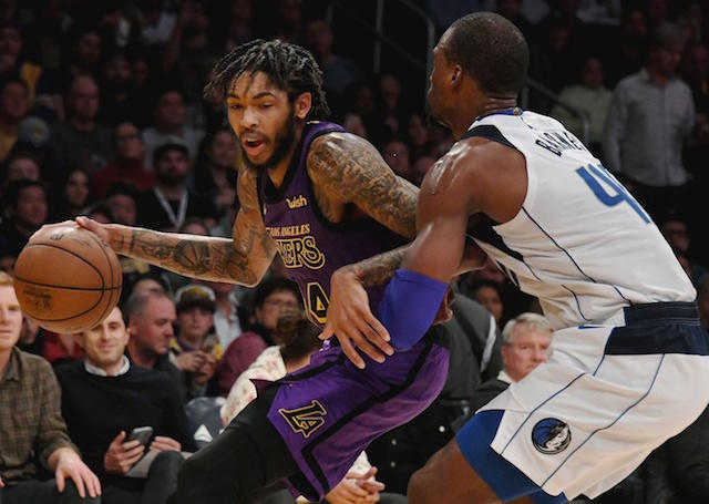 Brandon Ingram has joined Rajon Rondo on rehab assignment with @SouthBayLakers. https://t.co/gt5OTGweH8