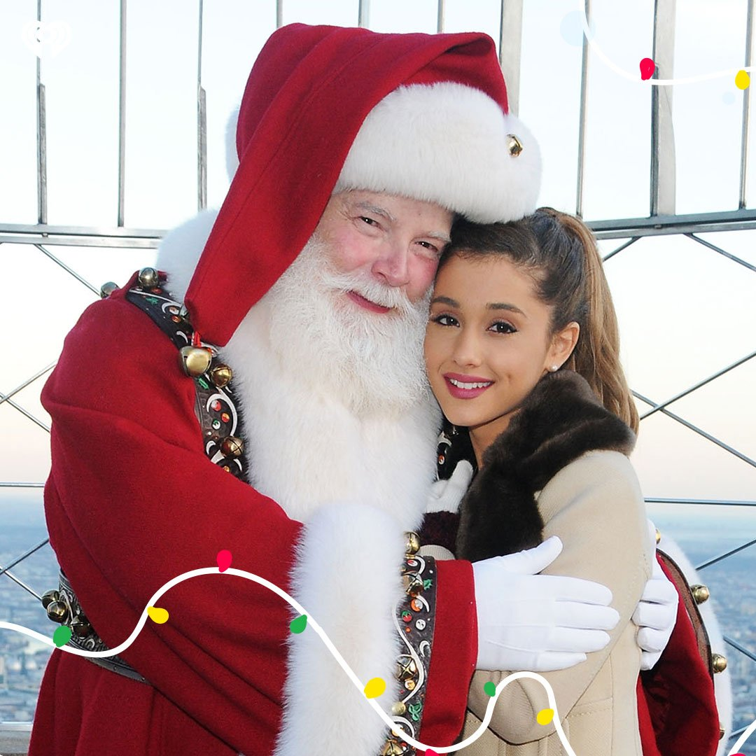 We're officially one week away from Christmas! Lil bb @ArianaGrande is ready, are you?  🎅🏻: https://t.co/5HzGDS1ALN