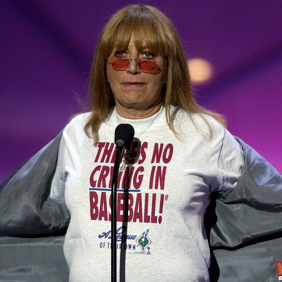We join the baseball community in mourning the passing of Penny Marshall, director of 'A League of Their Own.'