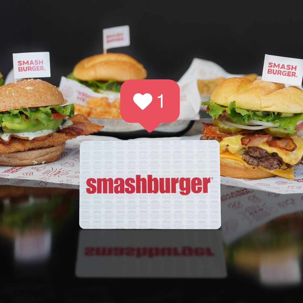 Give the gift of 🍔 possibilities. #giftcard #giftideas #gifting #holidays #holidayshopping