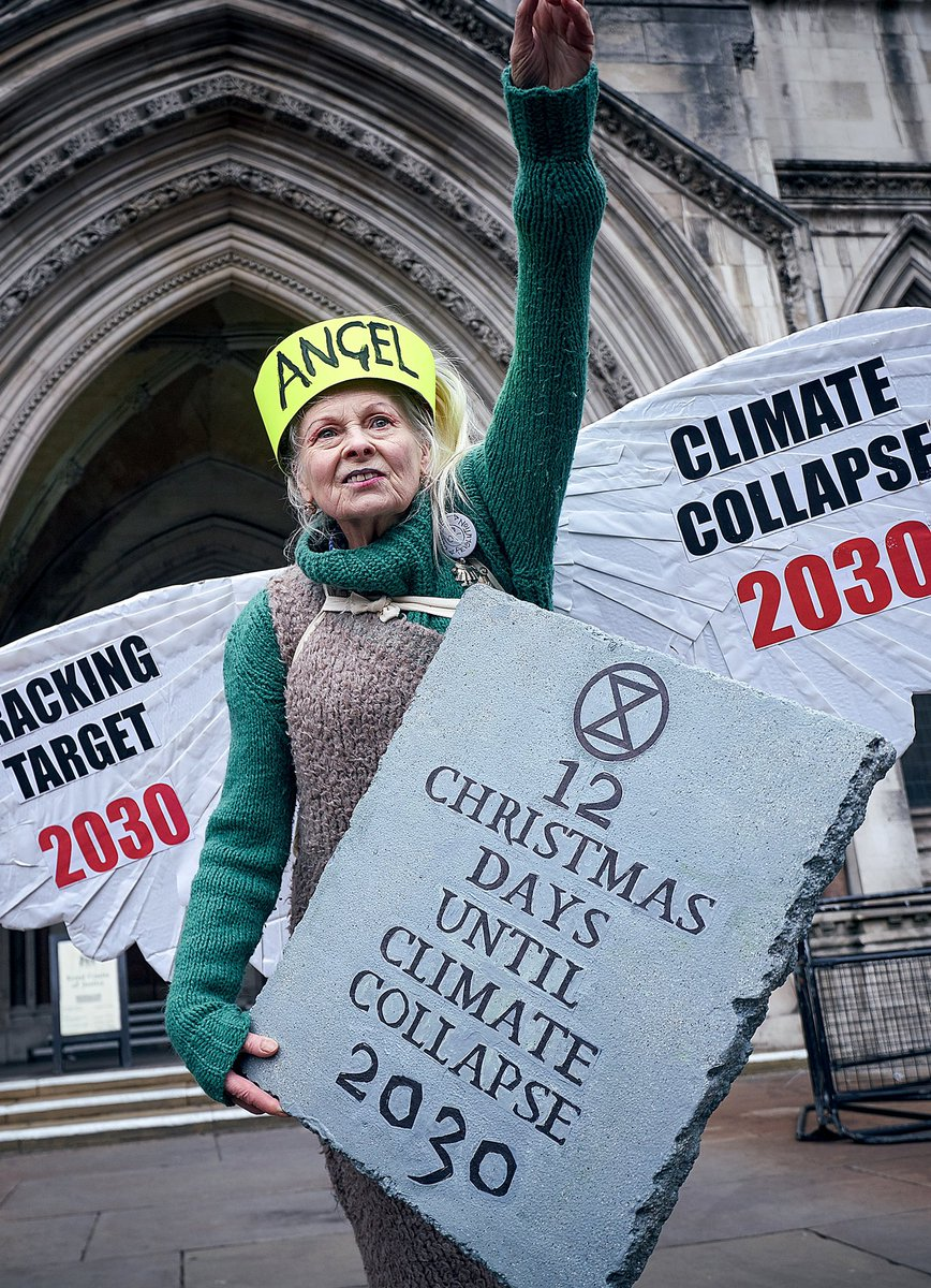 """""""Democracy isn't working. 80% of British people don't want fracking. Our government is overriding public opinion and local government, poisoning God's world.""""  -Vivienne.   📸 Ki Price"""