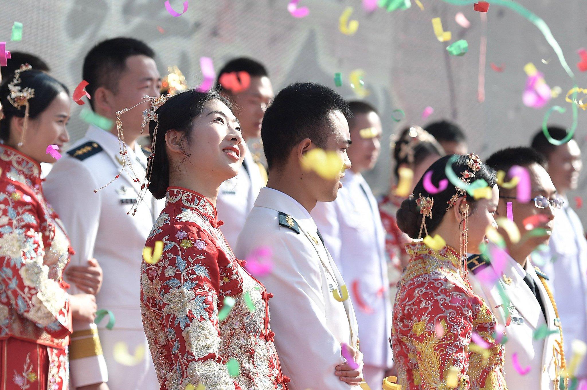 фото китайских свадеб группы, маша