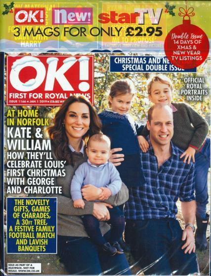 #royal OK! Bumper pack magazine - UK