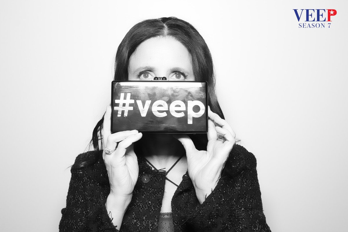 Today is our final shooting day on this glorious show. @veephbo