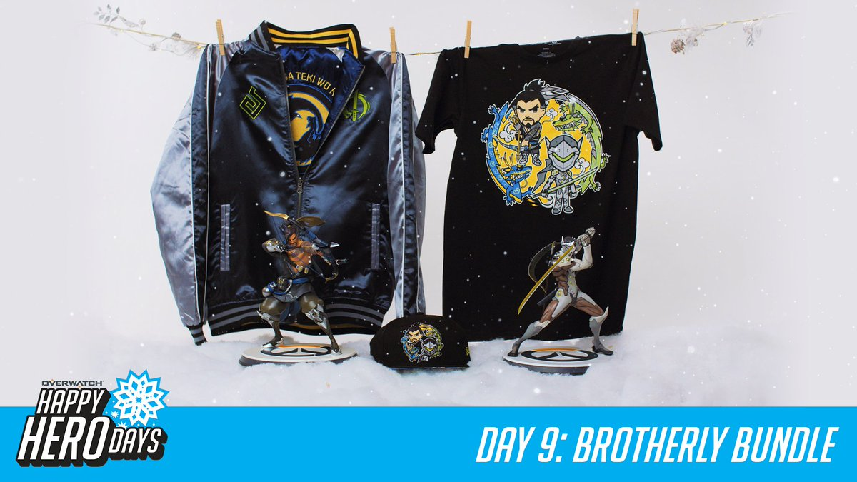#HappyHeroDays! 12 prizes, 12 days.  Day 9: Brotherly Bundle  RT for a chance to win today's prize and RT every day for a chance to win a GRAND PRIZE package from @msiUSA.  📜 http://Blizz.ly/2zPpxow