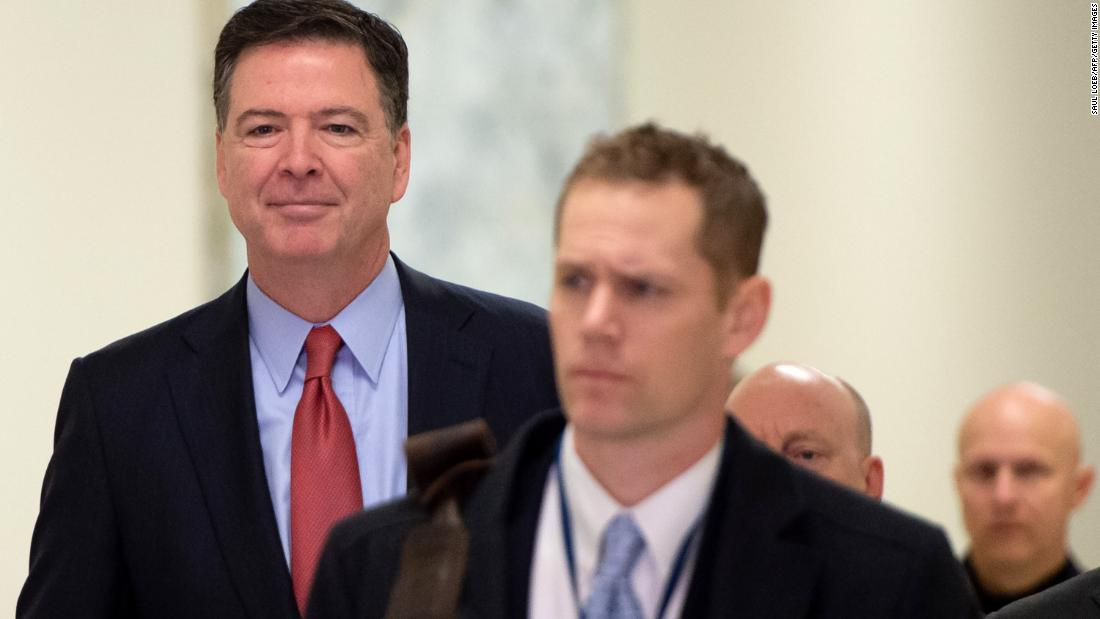 House Republicans unveil the transcript of ex-FBI Director James Comey's latest closed-door meeting with lawmakers https://cnn.it/2QXH9s7