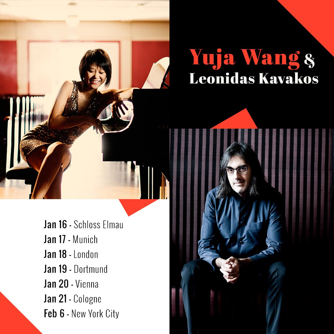 Reloaded twaddle – RT @YujaWang: Leonidas Kavakos is not only one of the world's greatest violinist...