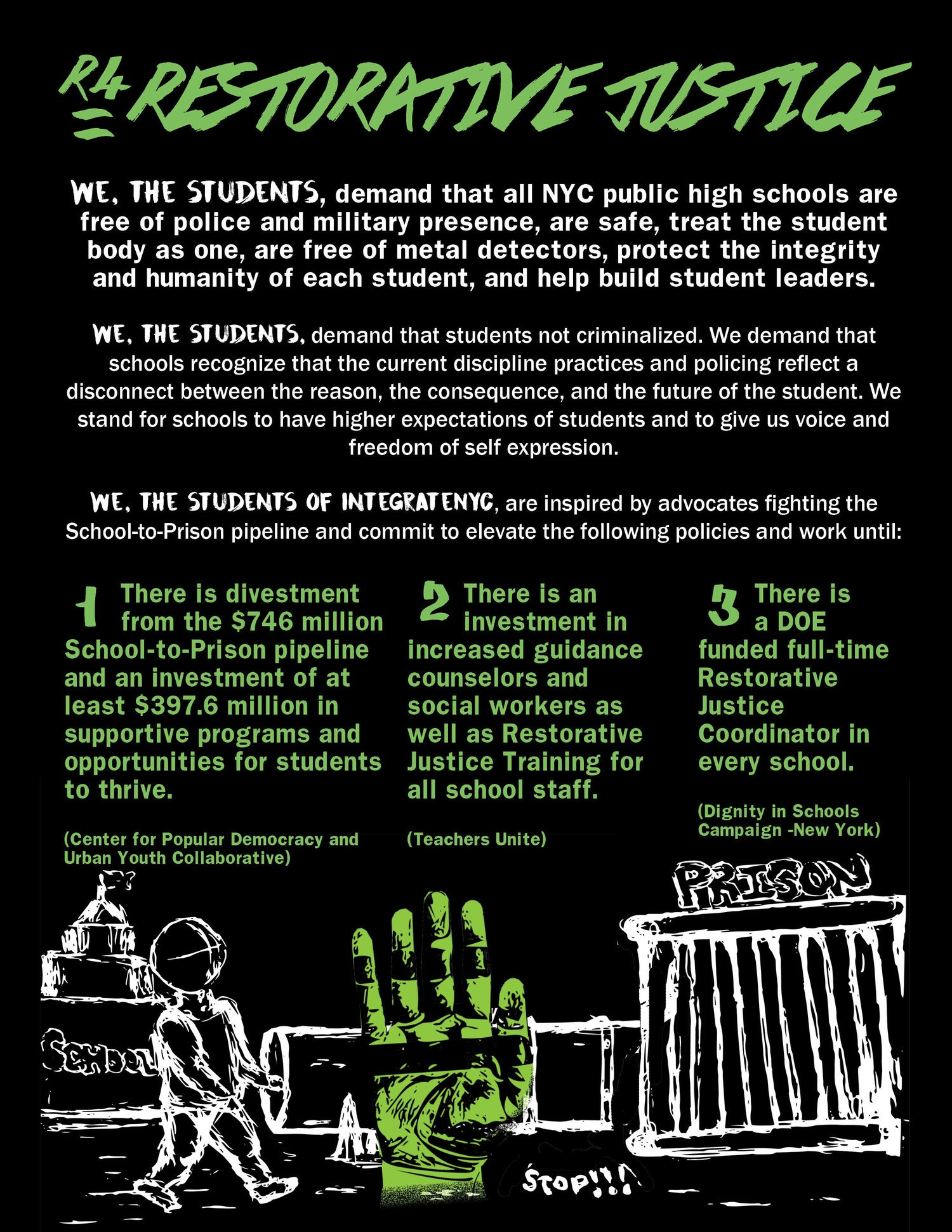 New Guidance To Help Protect Student >> Integratenyc On Twitter A6 Our Schools Our Safety Our