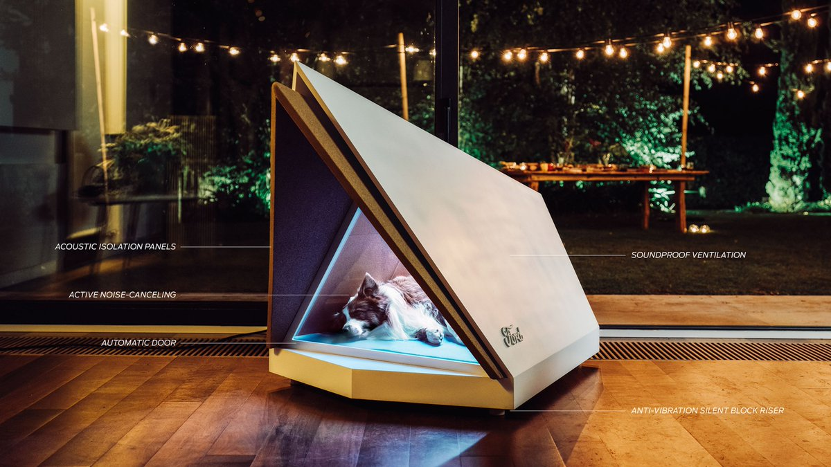 Ford designs noise-canceling dog kennel to block out holiday fireworks, thunder noise https://t.co/HSQXwwQIzh