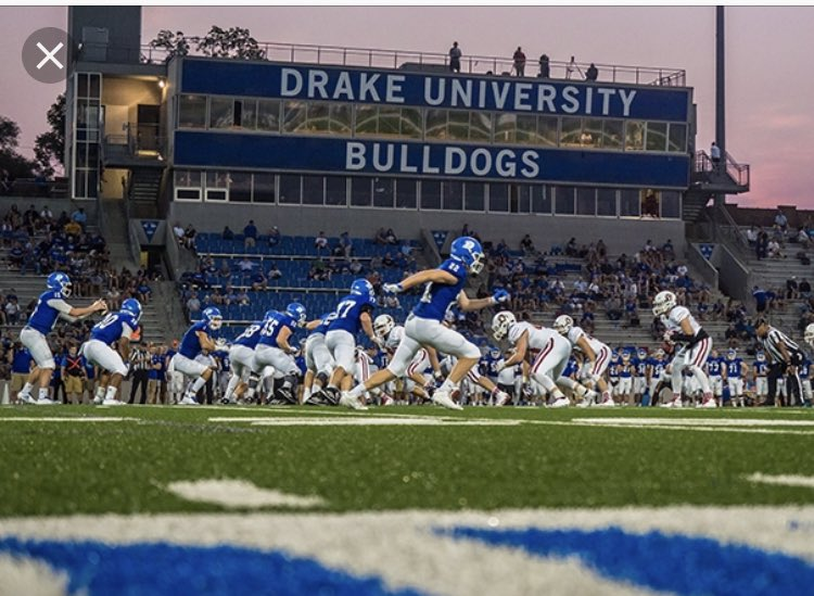 Blessed and excited to have received and offer from Drake University!#Bulldogs