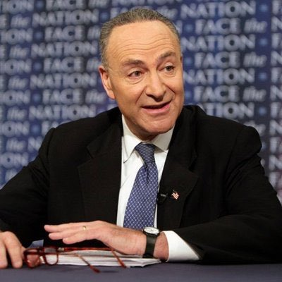 """""""Throw a bone to his base?"""" Really, now we're dogs? Repulsive, cryin' Chuck Schumer insulted every Trump supporter and forgot what happened to crooked Hillary when she called us deplorables! bit.ly/2PNxfEL"""