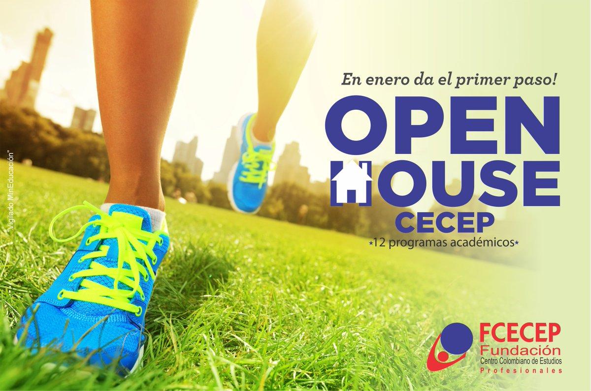 Da tu primer paso en nuestro OPEN HOUSE, apartir del 15 al 18 de Enero. Te esperamos..! #yoSoyFCECEP https://t.co/9rVDNKohBt