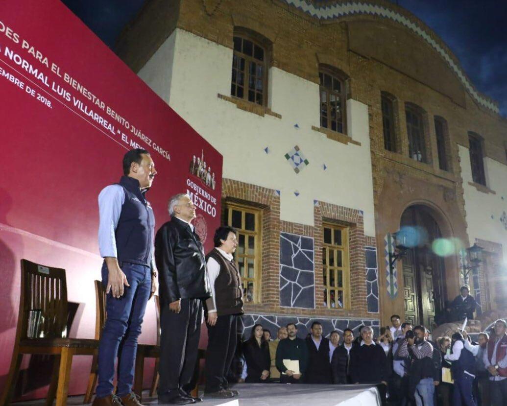 Un componente esencial de la #CuartaTransformación que encabeza el Presidente Constitucional Andrés Manuel López Obrador es la mejora de las #EscuelasNormales de todo nuestro país. #EducaciónParaTodos