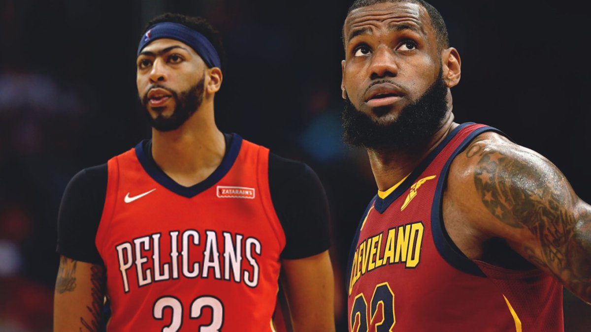 LeBron James likes the idea of playing with Anthony Davis  &quot;That would be amazing, like, duh. That would be incredible.&quot; <br>http://pic.twitter.com/6WqIUBB5I3