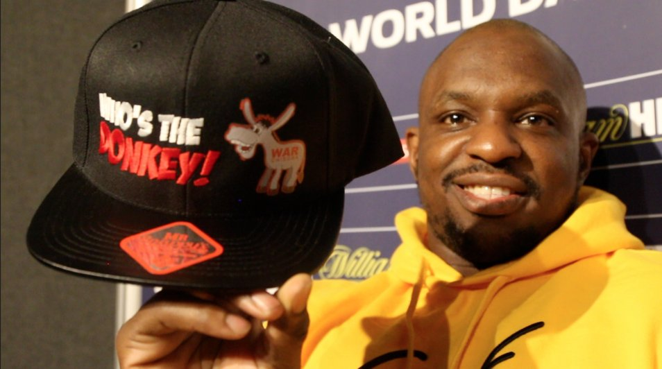 WIN this #WhosTheDonkey hat straight from the head of @DillianWhyte !   RT this tweet and I will pick a winner out at random this Friday.  Good luck  #WhyteChisora2