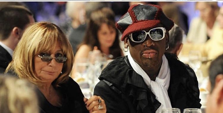 Penny Marshall was working on her Dennis Rodman documentary just hours before she died