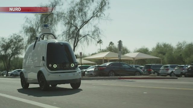 Grocery delivery, with no human drivers, is underway in Scottsdale. https://t.co/uvSENFfNmw
