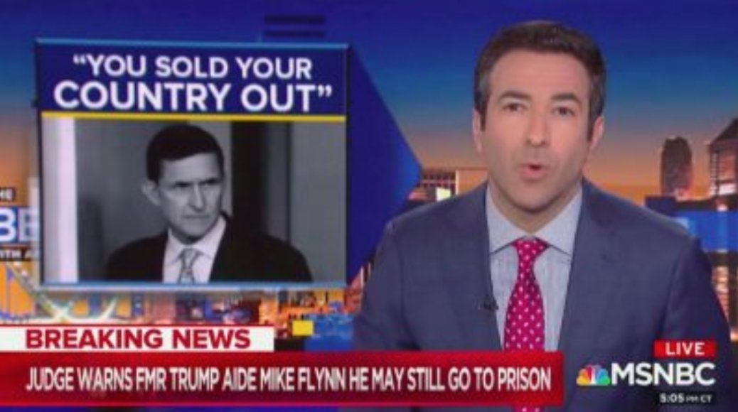 MSNBC's Ari Melber: Flynn Turned Mueller's 'Get Out of Jail Free Card' into 'Judicial Smackdown' https://t.co/JRwKCQo3n9