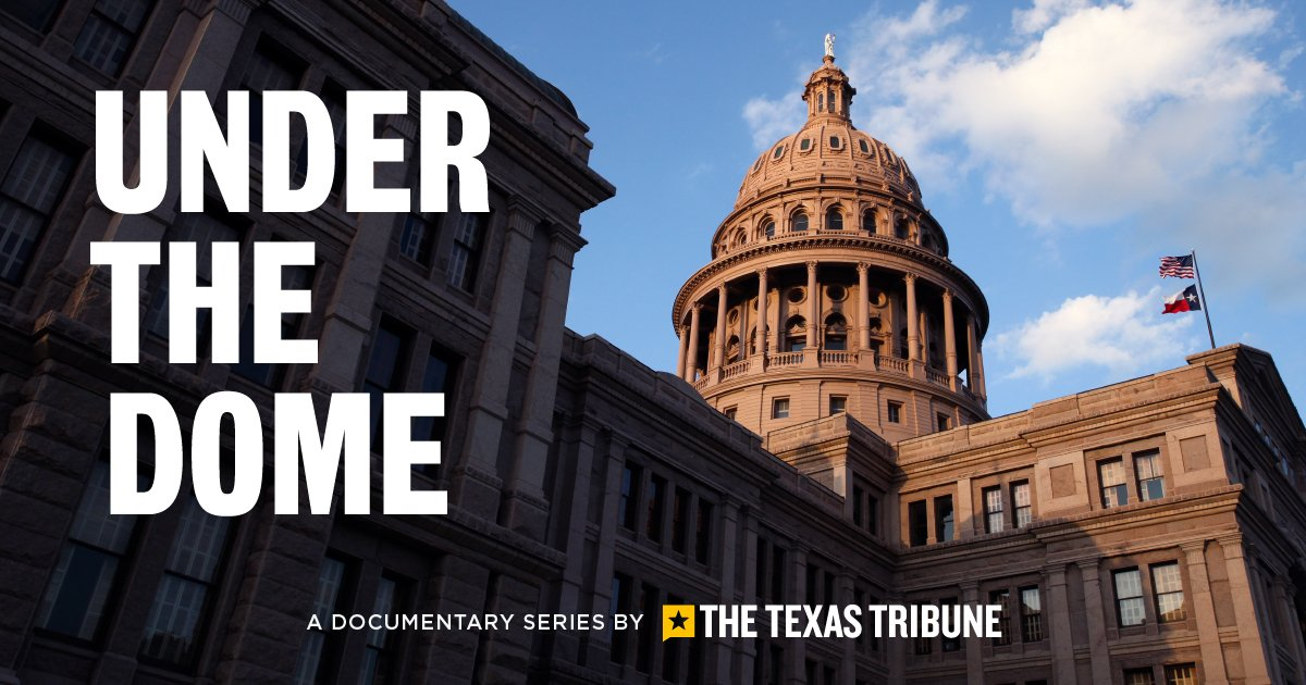 Coming tomorrow: We launch Under the Dome, our new mini-documentary series that explores the process, personalities and proposals at the Capitol this legislative session. Watch the premiere Wednesday morning. #txlege https://t.co/YKkANyZPVD
