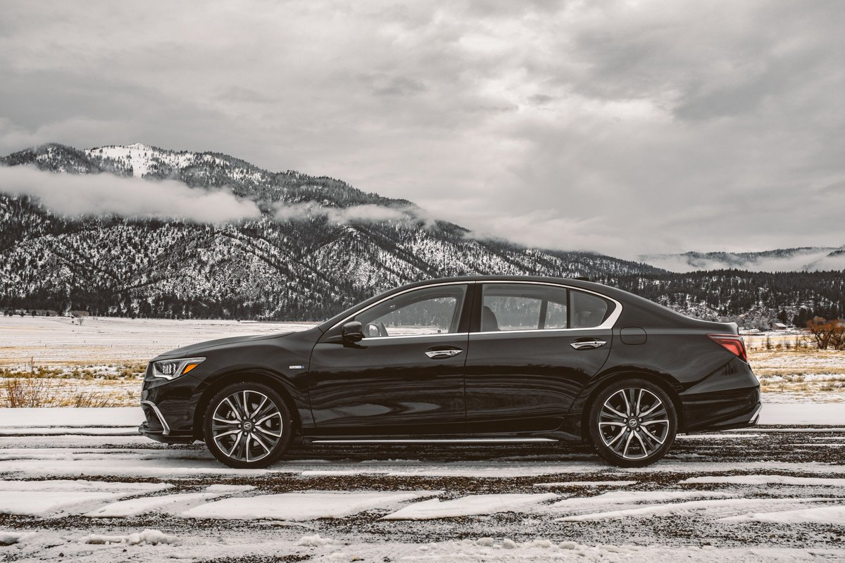 Super Handling All-Wheel Drive for all sides of winter. #RLX